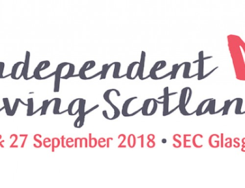 Independent Living Scotland, SEC, 26th & 27th September